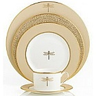June Lane Gold 5 Piece Place Setting