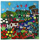 A Spring Day Applique Wall Hanging