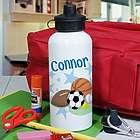 Personalized Sports Fan Water Bottle