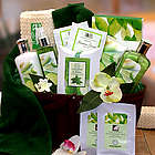 Cucumber and Melon Calming Spa Bath and Body Gift Basket