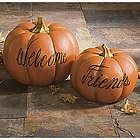 Welcome Friends Pumpkins