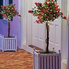 Pre-Lit Artificial Azalea Topiary