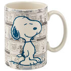 Peanuts Comic Strip Snoopy Mug