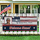 Personalized Military Proud Photo Banner