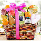 Fruit and Sweets Gift Basket