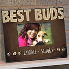 Personalized Best Buds Pet Printed Frame