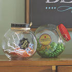 Set of 2 Retro Candy Jars