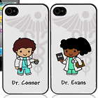 Custom Doctor Character iPhone Case