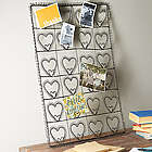 Wire 24 Heart Photo and Card Holder