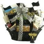 Start Your Engines Snacks and Cheese Gift Basket