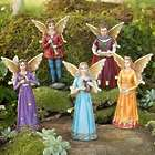 Weather-Resistant Royal Fairy Family Garden Statues