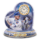 Chicago Cubs MVP Kris Bryant Heart Clock