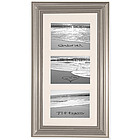 Personalized Tiered Framed Beach Black and White Photo