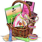 Mini Tea and Cookies Gift Basket