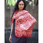 Jakarta Lady Silk Batik Shawl