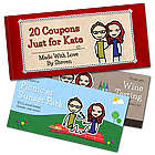 Personalized Love Coupons