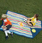 Machine Washable Durable Water-Resistant Nylon Picnic Blanket