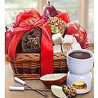 Decadent Chocolate and Fruit Fondue Gift Basket
