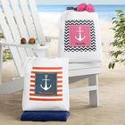 Personalized Anchors Away Tote Bag