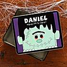 Frankenstein Fun Personalized Tin