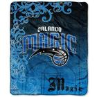 Orlando Magic Street Edge Throw Blanket