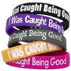 I Was Caught Being Good Wristbands for Students