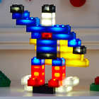 Sound-Activated Light Block Building Toys
