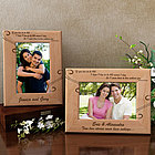 Personalized Never Without You Wooden Picture Frame