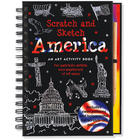 America Scratch and Sketch Activity Book