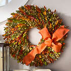 "18"" Harvest Gatherings Fall Wreath"