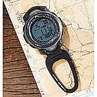 Multisensor Altimeter and Weather Clip Watch