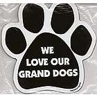 Dog Magnetic Pedigrees Magnets