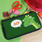Personalized Dinosaur Pencil Case