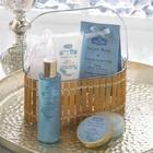 Night Rose and Sandalwood Bath Gift Basket