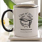 Graduation Cap Ceramic Coffee Mug