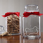 Personalized Good Doggy Treat Jar for Dogs