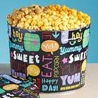 3-1/2 Gallon Fun with Snacks 3-Flavor Popcorn Tin