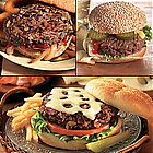 The Ultimate Burger Combo 4 of Each Burger