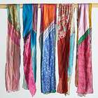 Patchwork Vintage Sari Silk Scarf