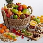 Ultimate Fruit and Snacks Gift Basket
