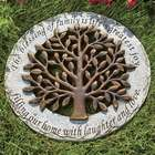 The Blessing of Family Sentimental Tree Stepping Stone