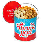 1 Gallon Thank You Popcorn Gift Tin