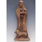 Handmade St. Francis Statue