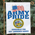 Military Pride Personalized Garden Flag
