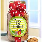I'm a Big Brother Chocolate Chip Cookie Jar
