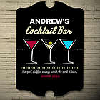 The Good Stuff Cocktail Personalized Bar Sign