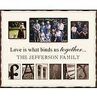 Personalized Family Alphabet Picture Frame