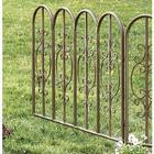 Decorative Iron Garden Fencing wth Gate