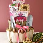Garden Gift Tote with Tools and Treats
