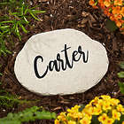 Our Mom Rocks Personalized Small Garden Stone
